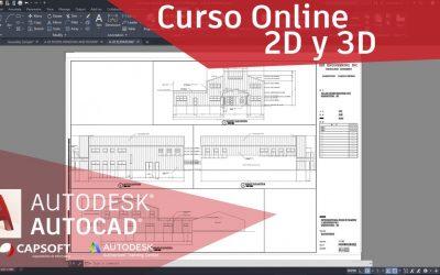 Especialización en AutoCAD