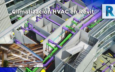 Climatización HVAC con Revit 2020