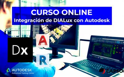 Integración de DIALux con Autodesk