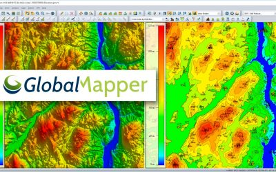 Geomática con Global Mapper